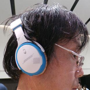 ボーズ サウンドリンク オンイヤー Bluetooth ヘッドホン お試し中
