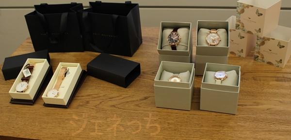ダニエルウェリントンと、オリビアバートンの腕時計ギフト